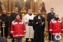 Pfarrer Andreas Waidler gemeinsam mit Pastoralreferent Thomas Ries
