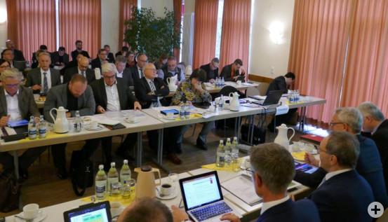 Kreisversammlung der Bürgermeister tagte in Gondelsheim