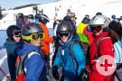 Das Skigebiet ist riesig und es gibt viele Lifte