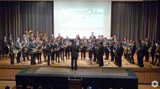Das Orchester sorgte für die musikalische Umrahmung. (Fotos: Musikverein Busenbach)