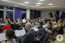 Zahlreiche Redner informierten im Bürgersaal die Neubürger.