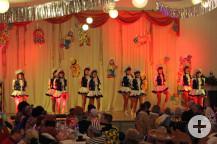 Die Tanzgarde aus Schielberg.