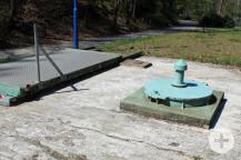 Hier wird das Thermalwasser gefördert. Die Pumpe soll nun ausgetauscht werden. Bild: Gemeinde Waldbronn