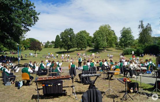 Konzert des Musikvereins Busenbach. Bild: MV Busenbach