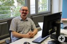 Integrationsbeauftragter der Gemeinde Waldbronn Manuel Lorch