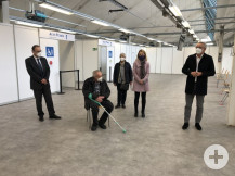 Kommunales Impfzentrum Sulzfeld eröffnet am 22.01.2021