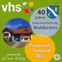 vhs Programm 1. Semester 2021