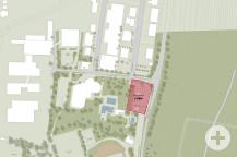 Neuer Standort Feuerwehrhaus.