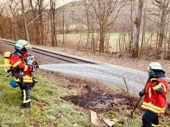 Bild Feuerwehr Waldbronn zum Monatsbericht März 2021
