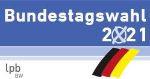 Logo lpb BW zur Bundestagswahl 2021
