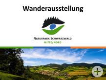 Naturpark-Wanderausstellung